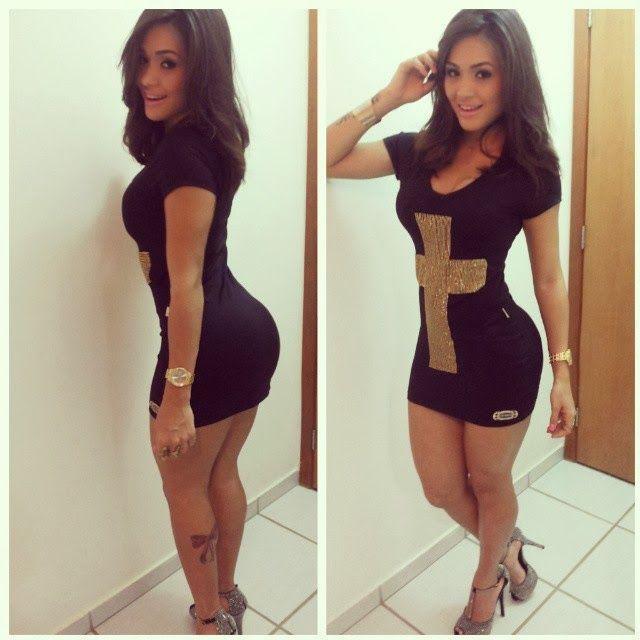 Morena Gostosa Famosinha Do Instagram Mostra O Corpo ...